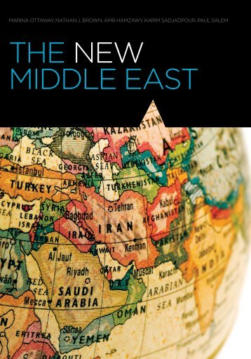 the new middle east - Carnegie Endowment for International Peace
