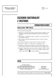 EGZAMIN MATURALNY Z HISTORII - Gazeta.pl