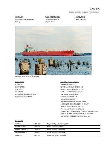 AKARITA - Cargo Vessels International