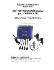 download manual - Lakewood Instruments
