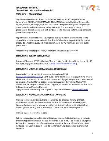 SECTIUNEA 1 - tvr.ro