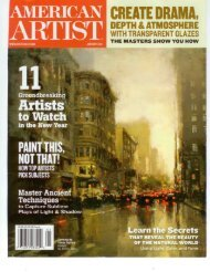 "Jove Wang featured as ""Artist to Watch"" - American Legacy Fine Arts"