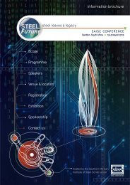 SteelFuture Brochure 2012 - 03-10-12.cdr - Southern African ...