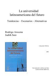 La universidad latinoamericana del futuro, Ediciones UDUAL ...