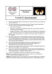 Aufgaben - Positron Annihilation in Halle - Martin-Luther-Universität ...