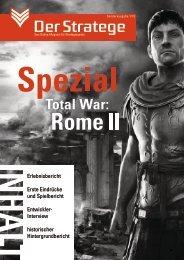 Sonderausgabe ROME II - Der Stratege