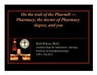 Dr. Wilcox Presentation