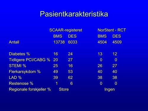 Forskning og kvalitetsregistre. Hvilke muligheter ... - Helse Midt-Norge