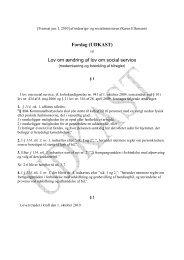 [pdf] Se lovforslaget her - Ergoterapeutforeningen
