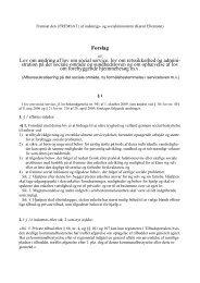 Læs lovforslaget her - Danske Ældreråd