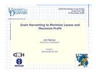 Grain Harvesting to Minimize Losses and Maximize Profit Jim Glancey