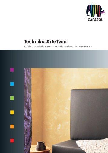 Technika Arte Twin - Caparol Polska