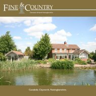 Canalside, Clayworth, Nottinghamshire. - Fine & Country
