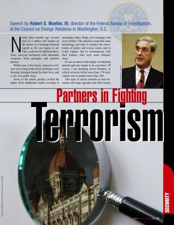 Partners in Fighting Terrorism, SPAN March/April 2009