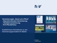 Ausführliche Fassung - R+V Versicherung