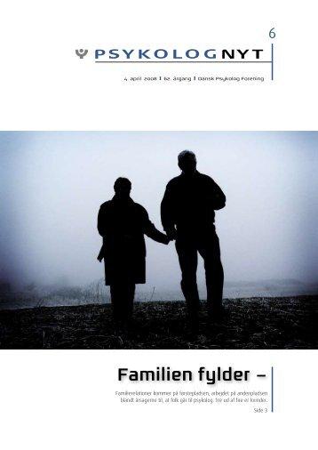 Familien fylder – - Elbo