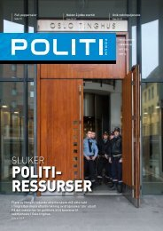 April - Politi forum