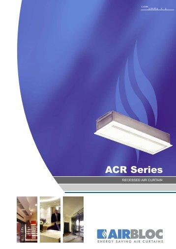 ACR Series Recessed Air Curtain - CMS