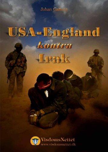 USA-ENGLAND kontra IRAK - Johan Galtung - Visdomsnettet