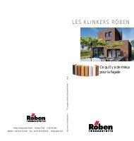LES KLINKERS RÖBEN - Röben Tonbaustoffe GmbH