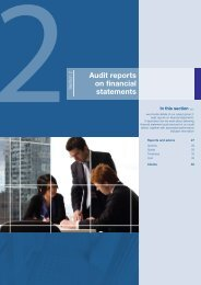 Audit reports on financial statements - VAGO