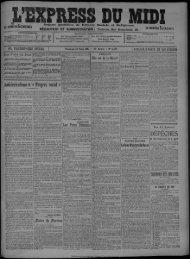 24 Mars 1911 - Bibliothèque de Toulouse