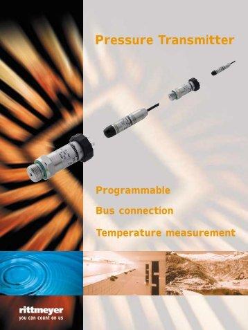 Pressure Transmitter - Hydroenergo