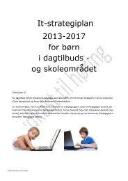 It-strategiplan 2013-2017 for børn i dagtilbuds - Hammelev Børnehave