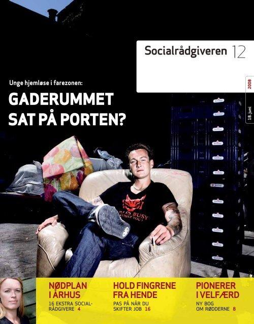 Socialrådgiveren nr. 12-2008 - Dansk Socialrådgiverforening