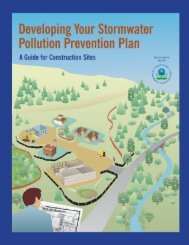 Developing Your Stormwater Pollution Prevention Plan• SWPPP ...