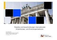 Projekte und Ausschreibungen internationaler ... - NRW.Europa
