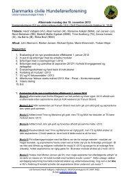 Referat møde mellem kredsinstruktører og ... - DcH Kreds 1