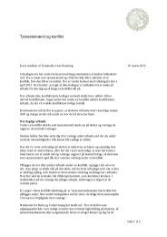 MedlemsbrevTjenestemænd130319 - Danmarks Lærerforening