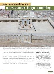 Jesu tempelaktion som messiansk tegnhandling. Jostein Ådna