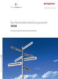 DAV-Zukunftsstudie – Langversion - Deutscher Anwaltverein