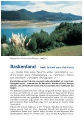 Baskenland (bask.: Euskadi; span.: País Vasco)