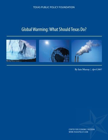 Global Warming: What Should Texas Do? - Consumer Coordination ...