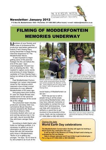 here - Modderfontein Conservation Society