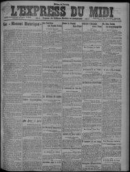 16 octobre 1920 - Bibliothèque de Toulouse