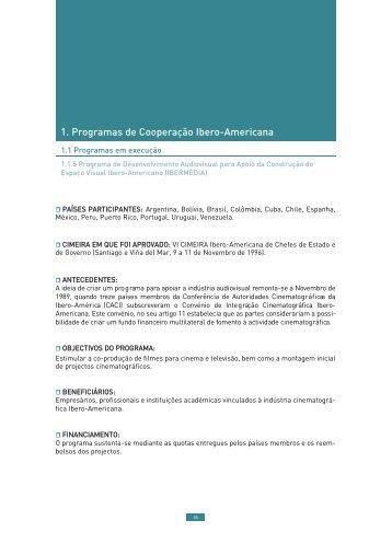 programa ibermedia (pdf) - Segib