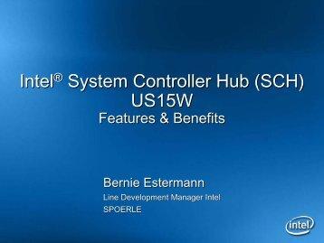 Intel® System Controller Hub (SCH) US15W