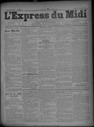 26 octobre 1891 - Bibliothèque de Toulouse