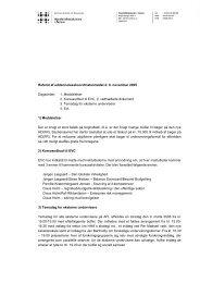 Referat af uddannelseskoordinatormødet d. 8. november 2005 ...