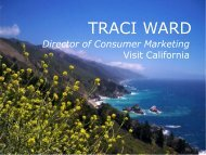 Central Coast Tourism Council's Annual Retreat - the California ...