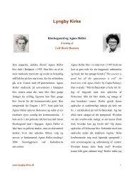 Kierkegaard og Agnes Heller - Lyngby Kirke
