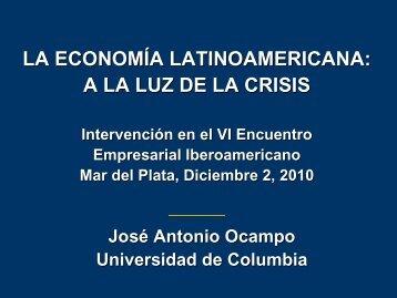 Historia de América Latina - Segib