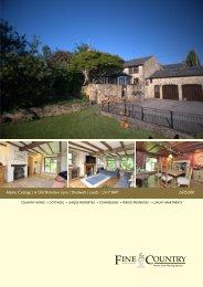 Alpine Cottage | 6 Old Brandon Lane | Shadwell ... - Fine & Country