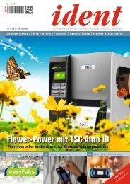 Flower-Power mit TSC Auto ID