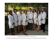 COP Ambassadors 2011-2012.pdf - College of Pharmacy