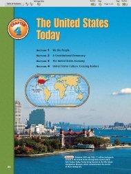 The United States Today The United States Today - Nexuslearning.net